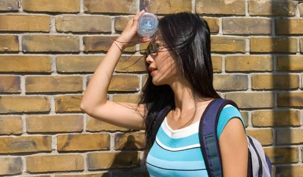 Sunčanica i toplotni udar