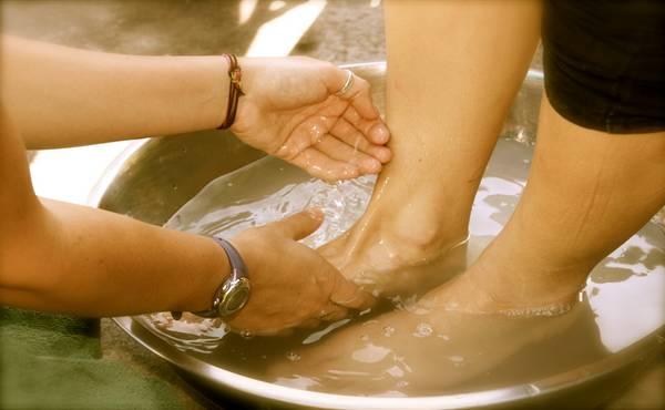 Pravilno pranje nogu