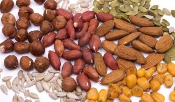 Orasi i semenje zdrava hrana