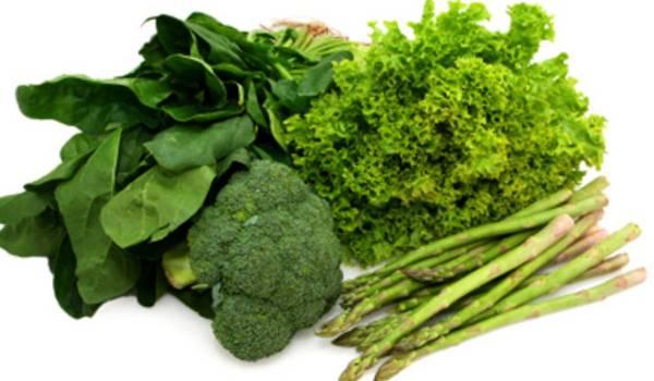 Tamnozeleno povrće pravilna ishrana